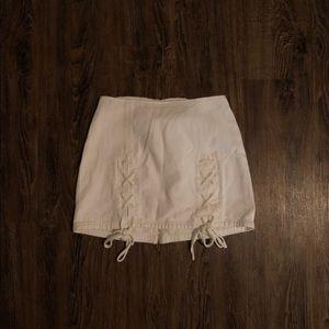 Dresses & Skirts - Mini Lace Up Skirt